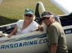 Phyllis and her pilot, Rob