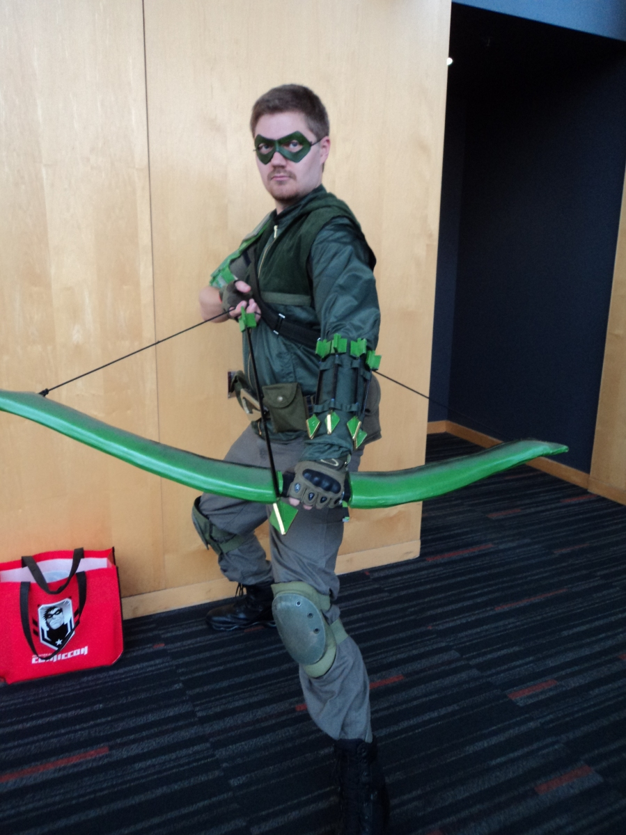 The Green Arrow at Montreal Comicon