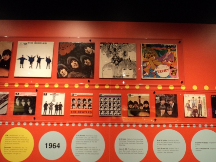 History of The Beatles albums