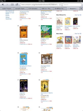 Books ranked on Amazon