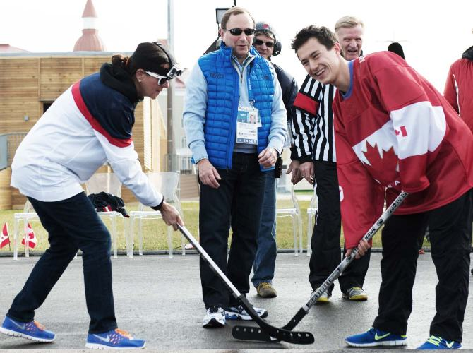 sochi ball hockey gary bettman