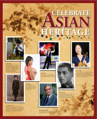 Asian Heritage Month 2014