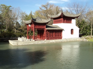 Replica of the Stone Boat in Chinese Garden