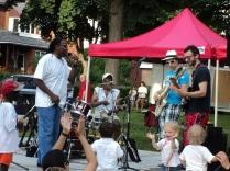 Band at Strathearn Park