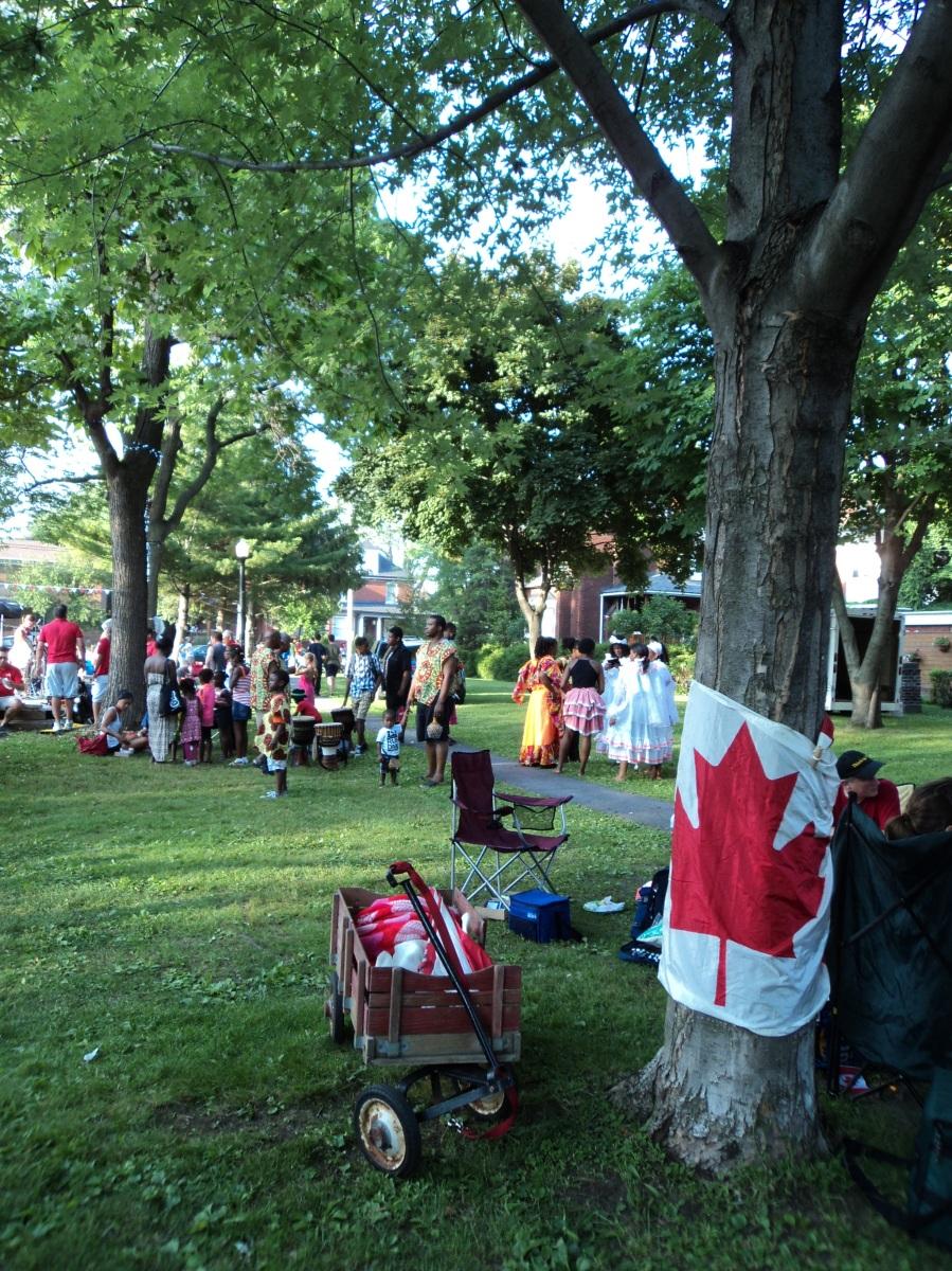 Strathearn Park Canada Day 2014