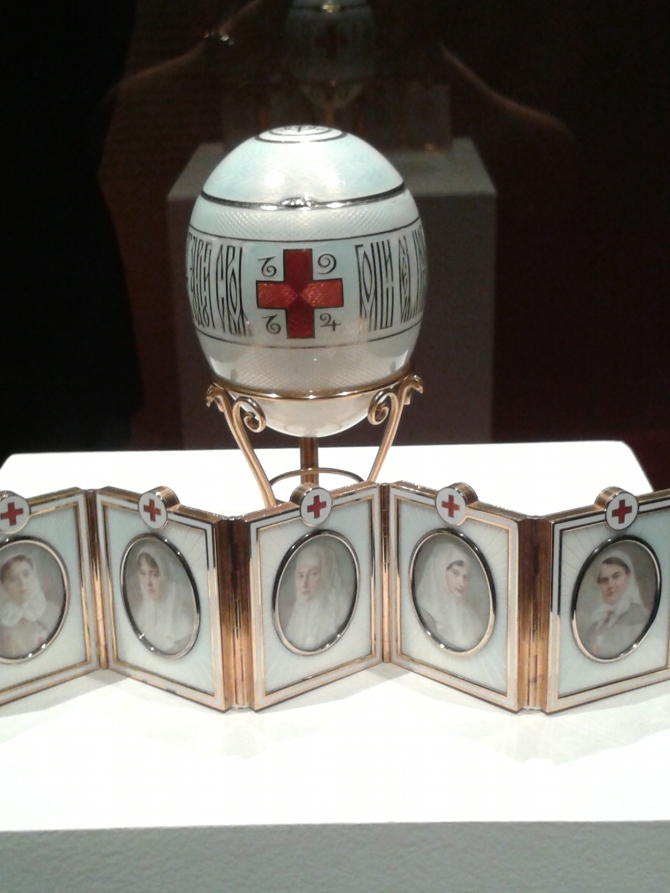 Red Cross Easter Egg