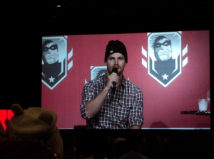 Stephen Amell at Montreal Comicon