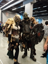 Fans at Montreal Comicon