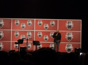 Sir Patrick Stewart at Montreal Comicon