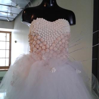 White Chocolate Wedding Dress