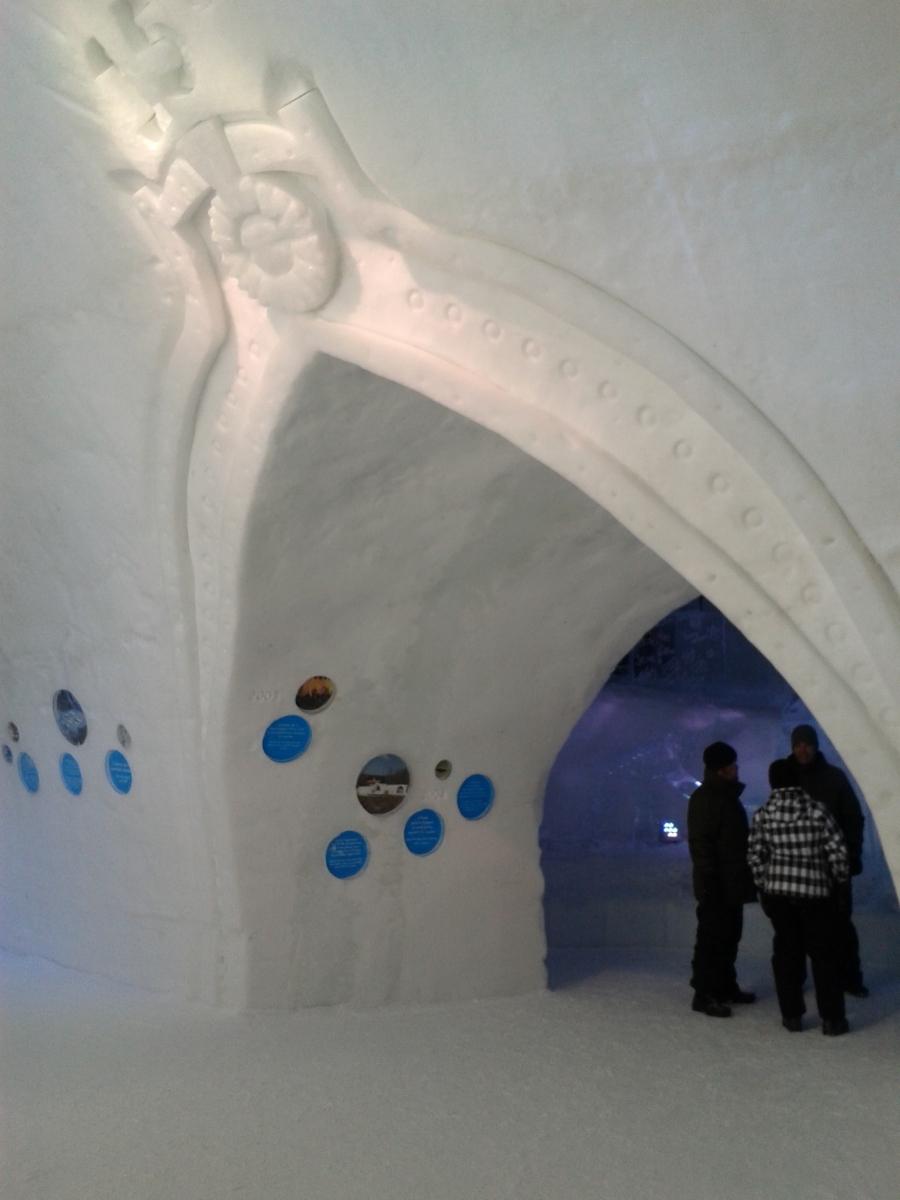 Ice Hotel doorway