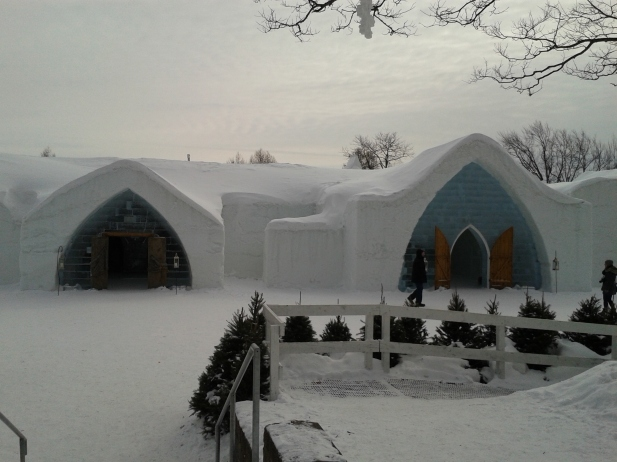 Ice Hotel at Quebec City