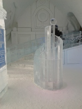 Ice Hotel stairs