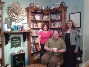 Authors for Indies Day in Knowlton