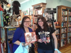 Friends at Authors for Indies Day