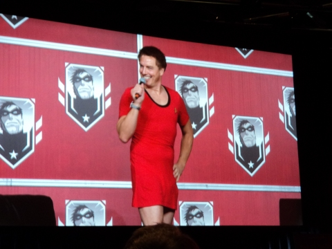 John Barrowman at Montreal Comiccon