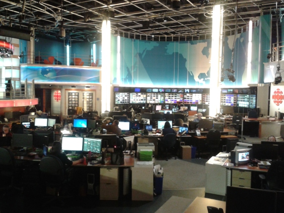 CBC news studio