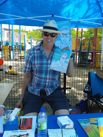 Author Pat Camozzi and his newest book