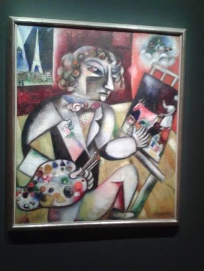 Chagall: Self Portrait
