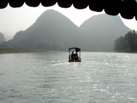 Rafting Down the Li River